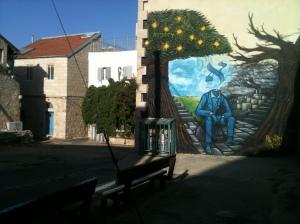 Nachlaot Alef Mural